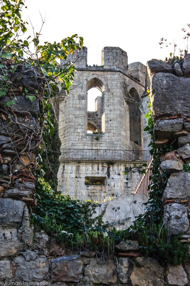 campanario abadía lagrasse