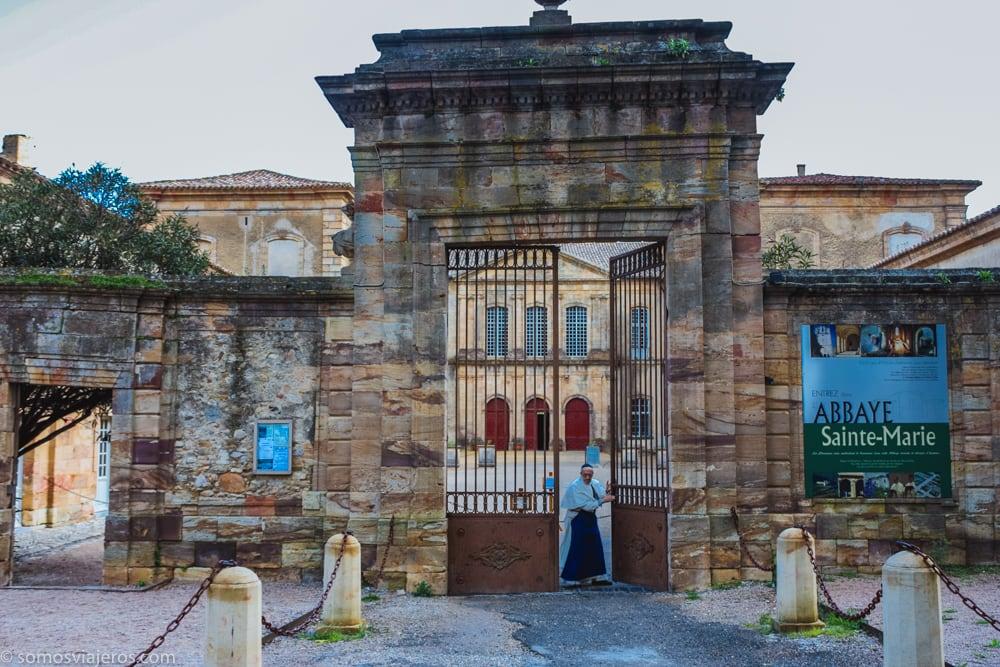 entrada abadía