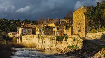 Lagrasse. Una villa medieval en el sur de Francia cerca de Carcassonne