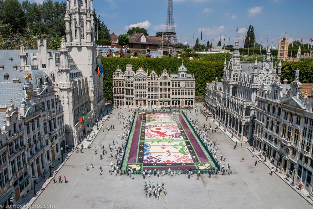 mini-Europe en Bruselas