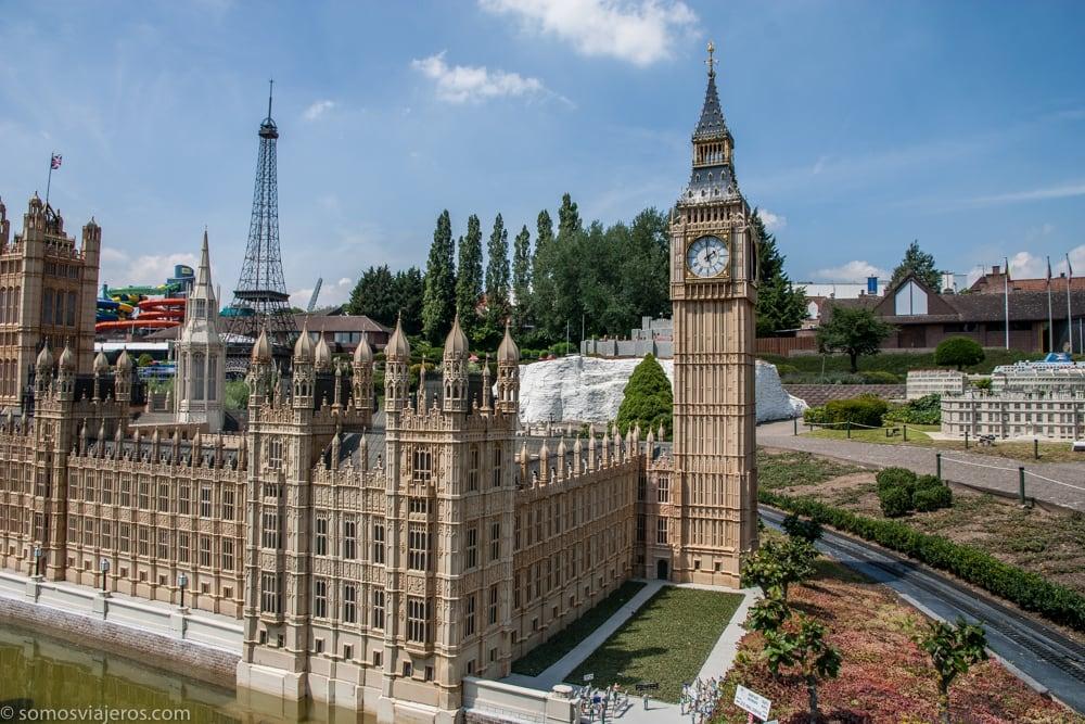 Big Ben en Mini-Europe