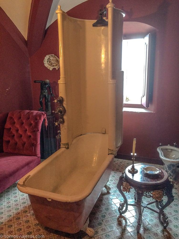 baño en el palacio da pena