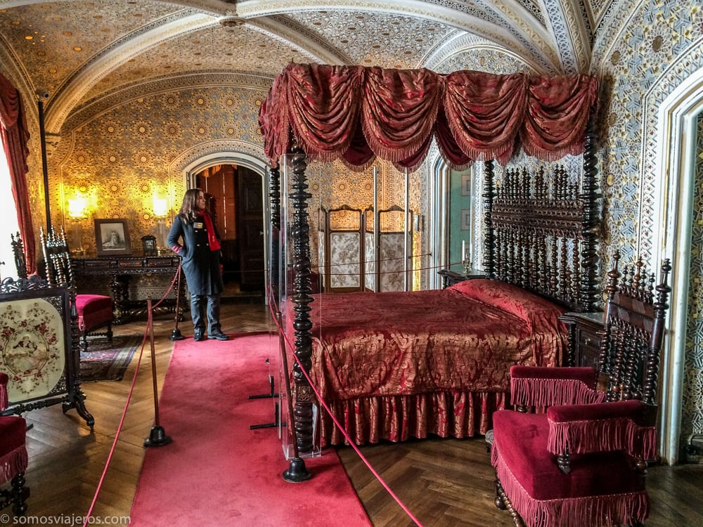 dormitorio palacio da pena