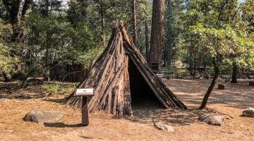 Yosemite con niños: el poblado indio de Ahwahnee