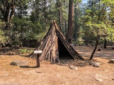 Cabaña Miwok en Yosemite