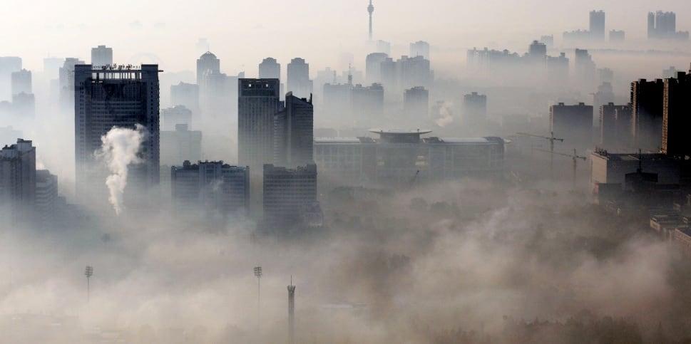 Linfen bajo la contaminación. Sin duda uno de los peores destinos del mundo