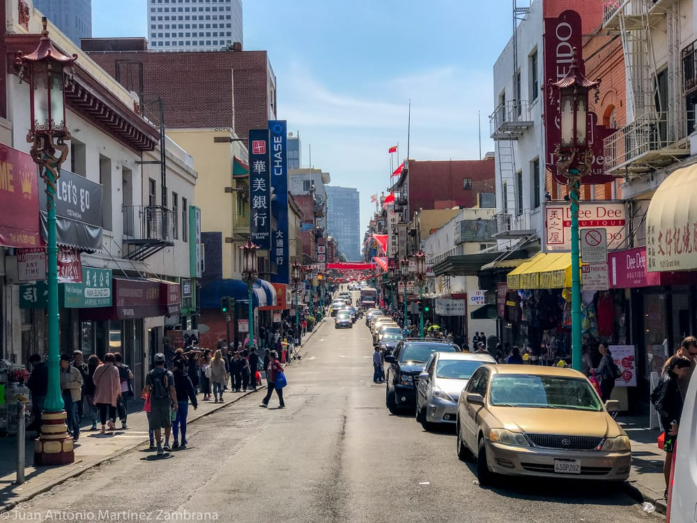 calles de chinatown en San Francisco