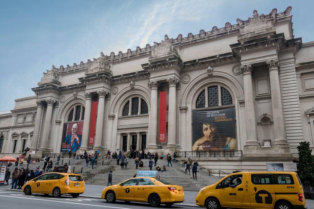 Imagen del museo metropolitano de Nueva York