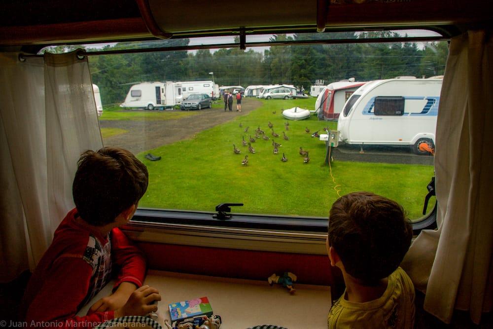 viaje a escocía en caravana y disfrutando de los campings escoceses