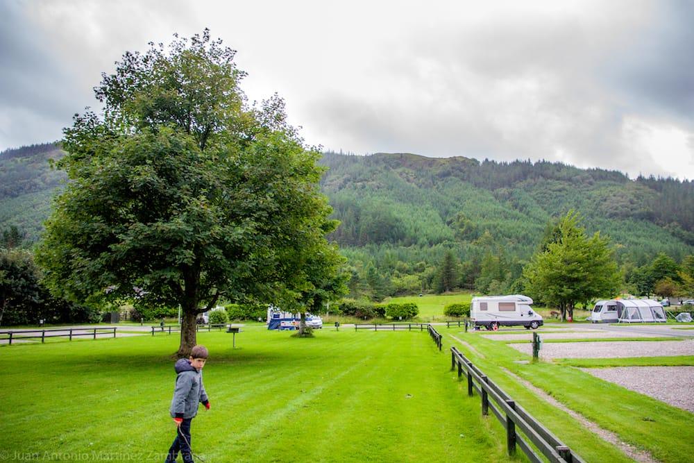 camping en Escocia