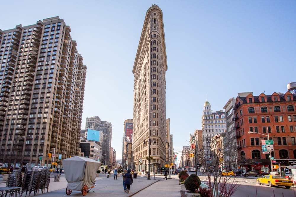 Edificio Faltaron de Nueva York