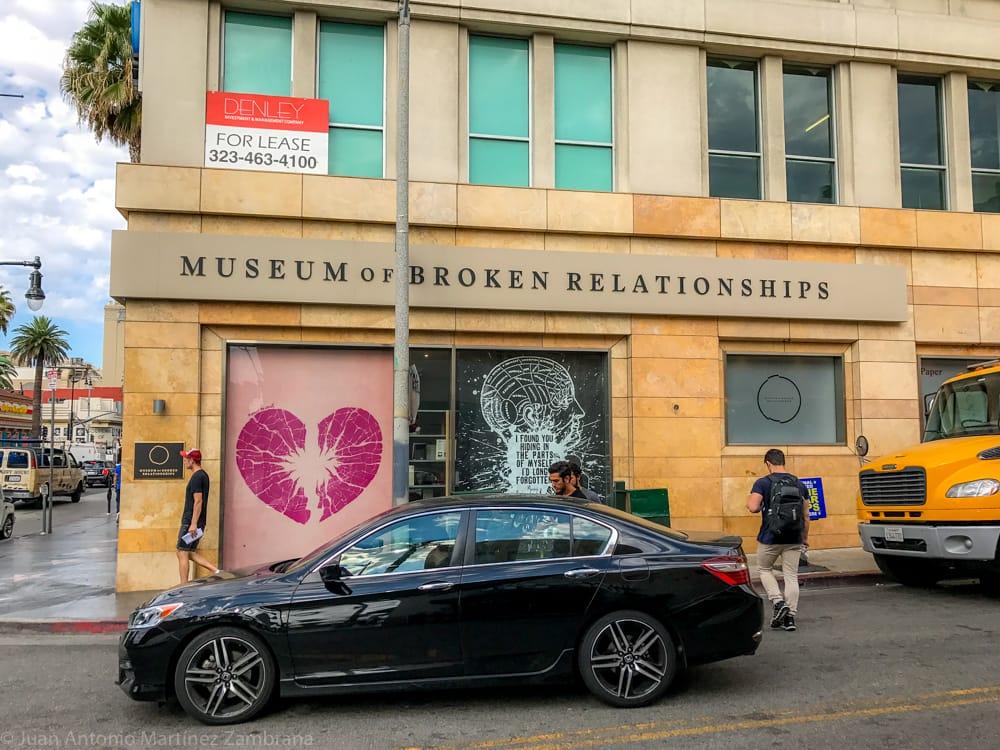 museo de las relaciones rotas en Los Angeles