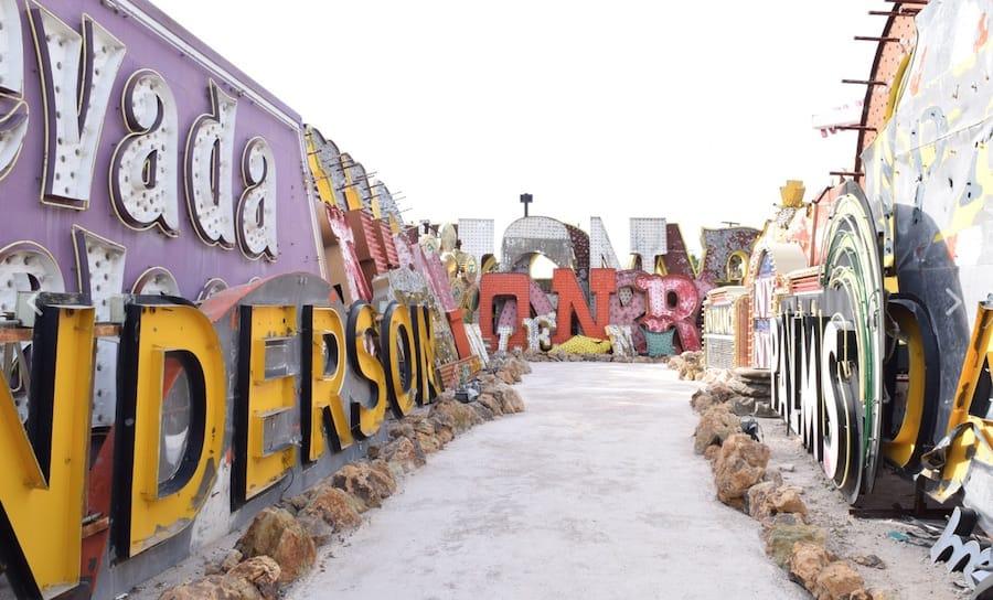 museo de los neones olvidados de Las Vegas