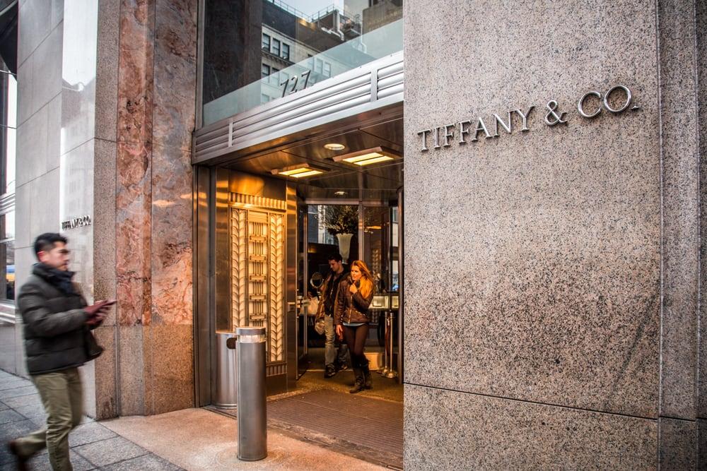 Tiffany&Co en la Quinta Avenida de Nueva York
