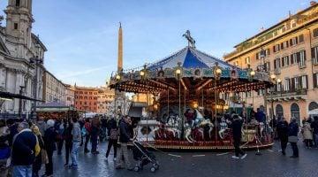 Roma en Navidad con niños