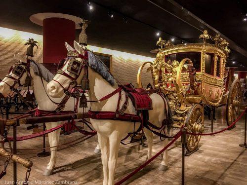 roma en navidad-carrozas en el vaticano