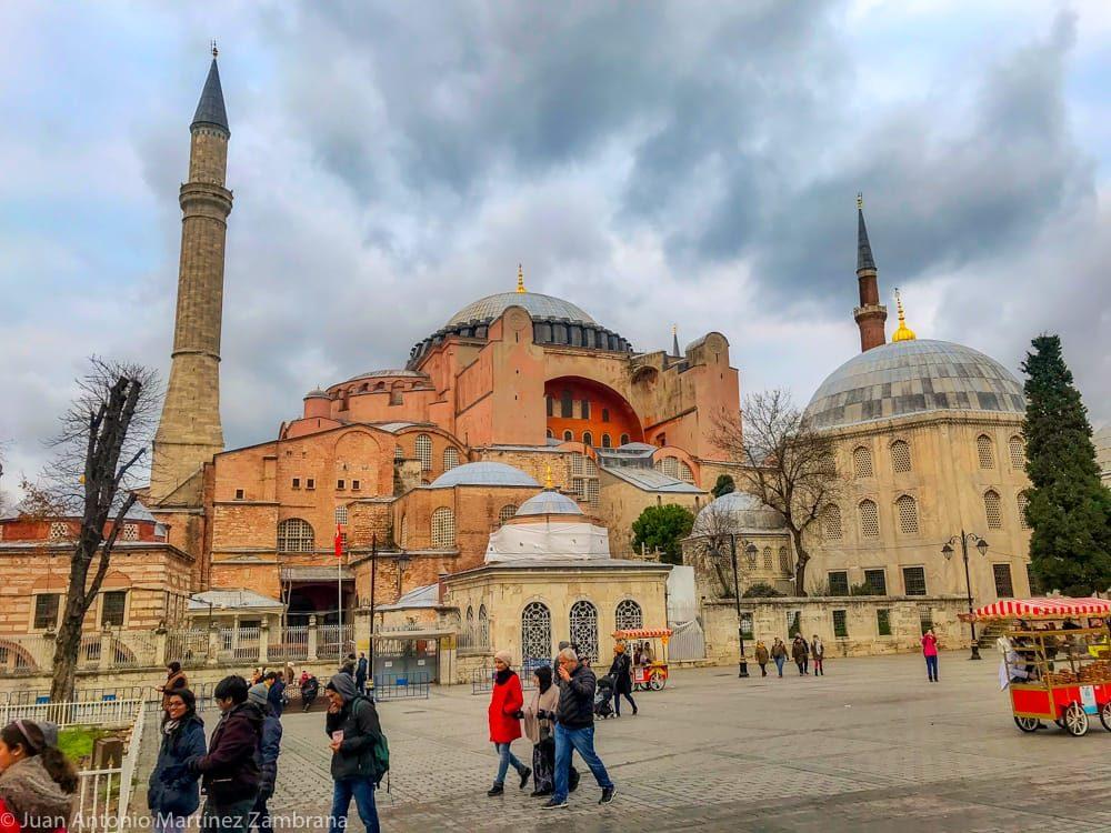 Santa Sofia en Estambul