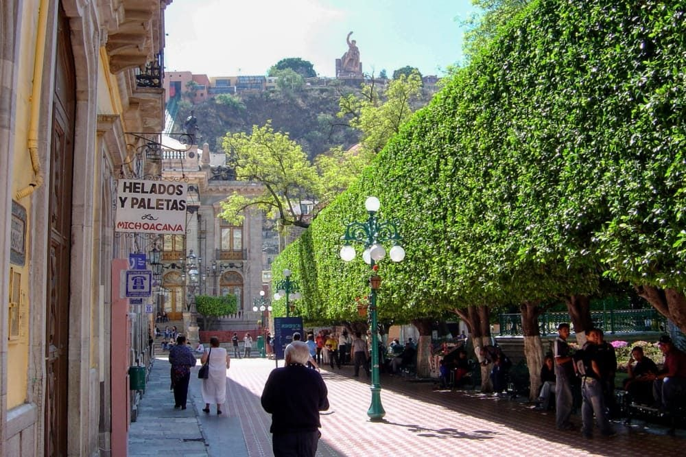 Jardín Unión de Guanajuato