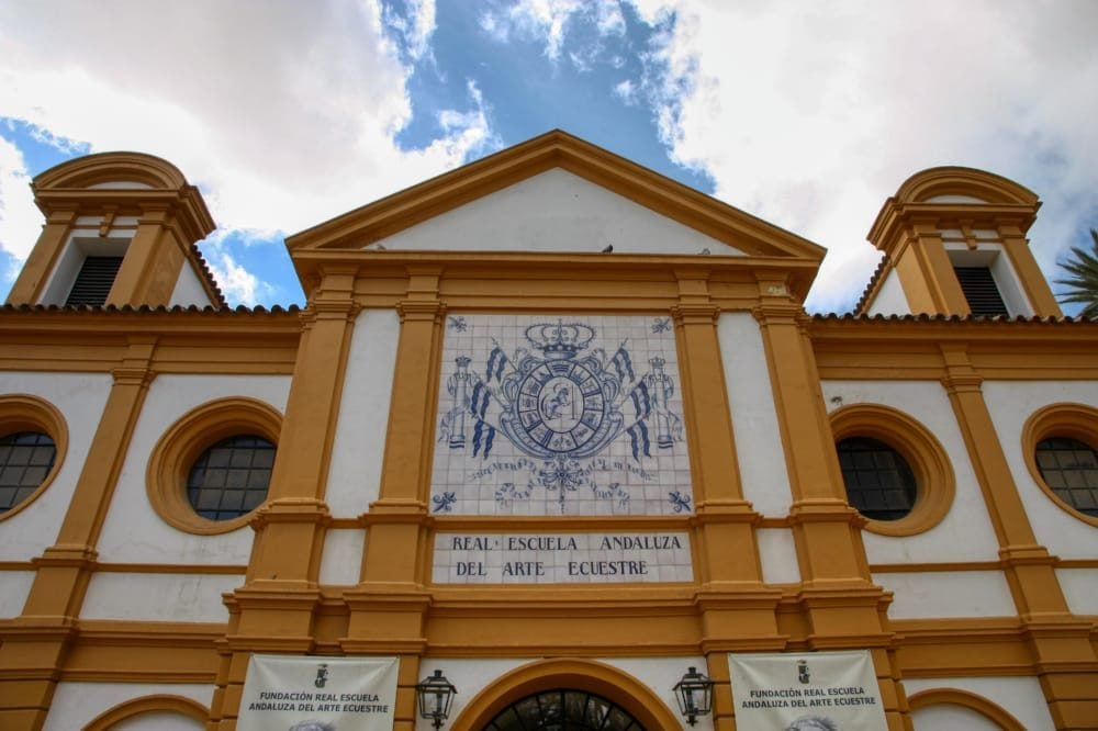 Real Escuela Andaluza del Arte Ecuestre - entrada