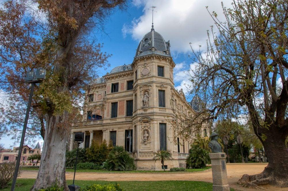palacio del recreo de las cadenas en el recinto de la Real Escuela del Arte Ecuestre en Jerez