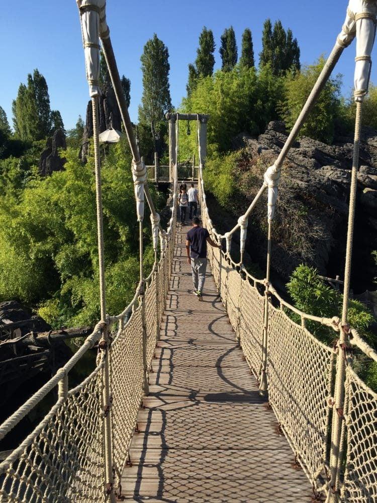 Eurodisney y paseo por la selva