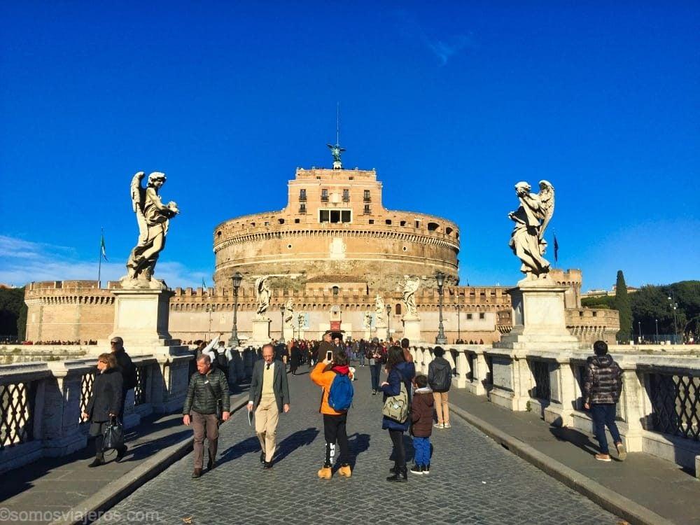 Qué ver en Roma con niños. El castelo San Angelo es una apuesta segura