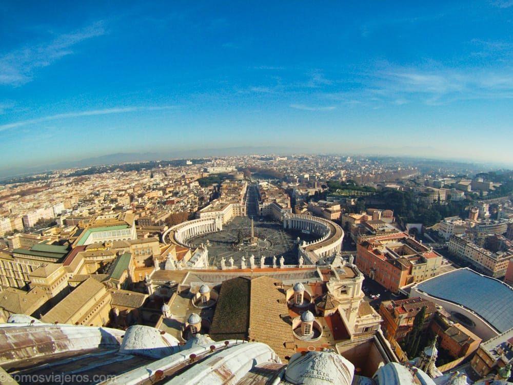 Vistas desde la Cúpula de San Pedro en qué ver en Roma con niños