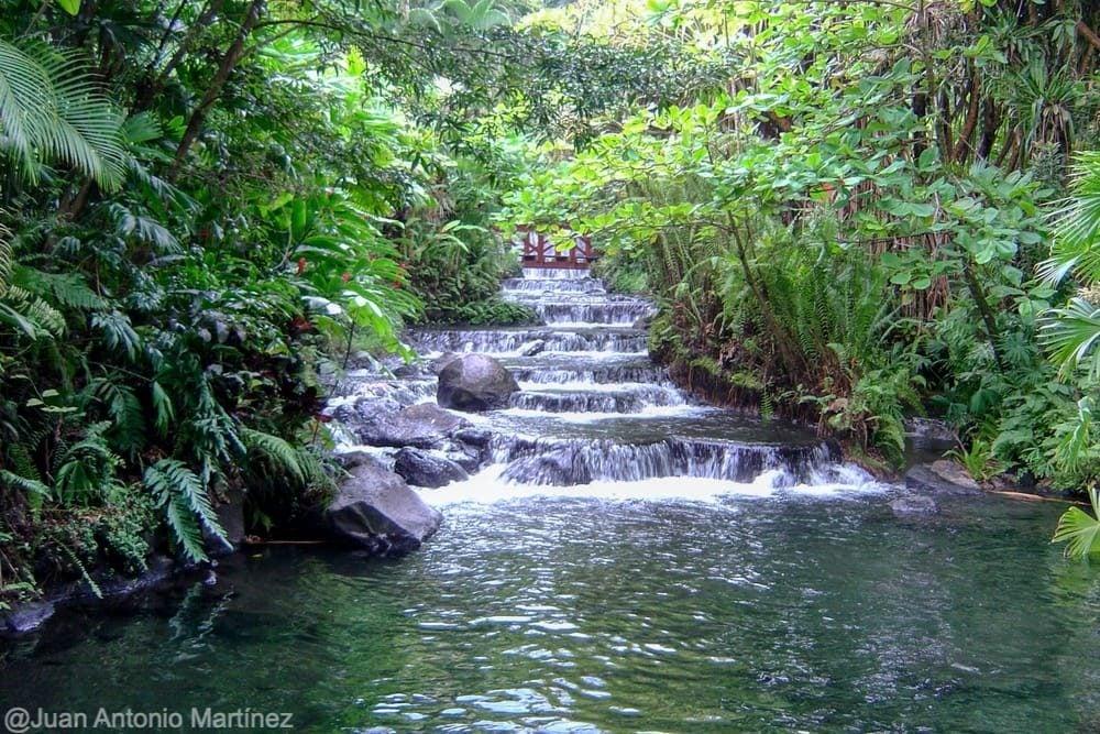 Termas Tabacón en la ruta por Costa Rica
