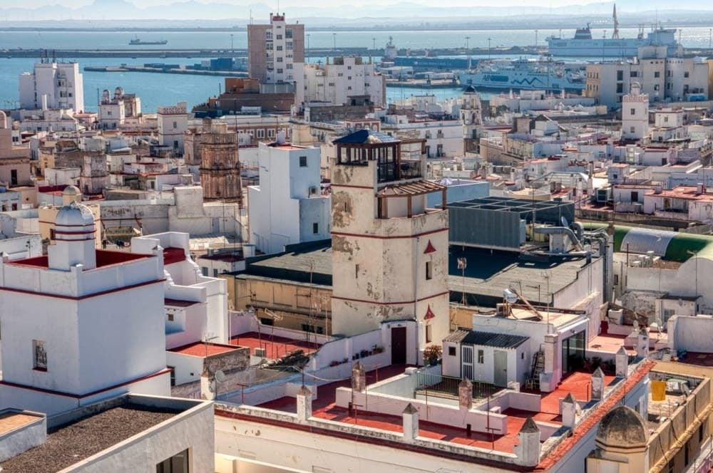 Torres mirador son imprescindibles de Cádiz en cualquier momento