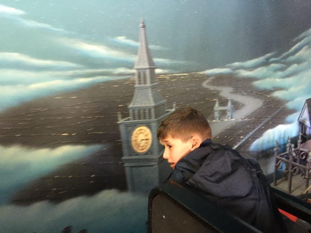 Eurodisney y el vuelo de Peter pan