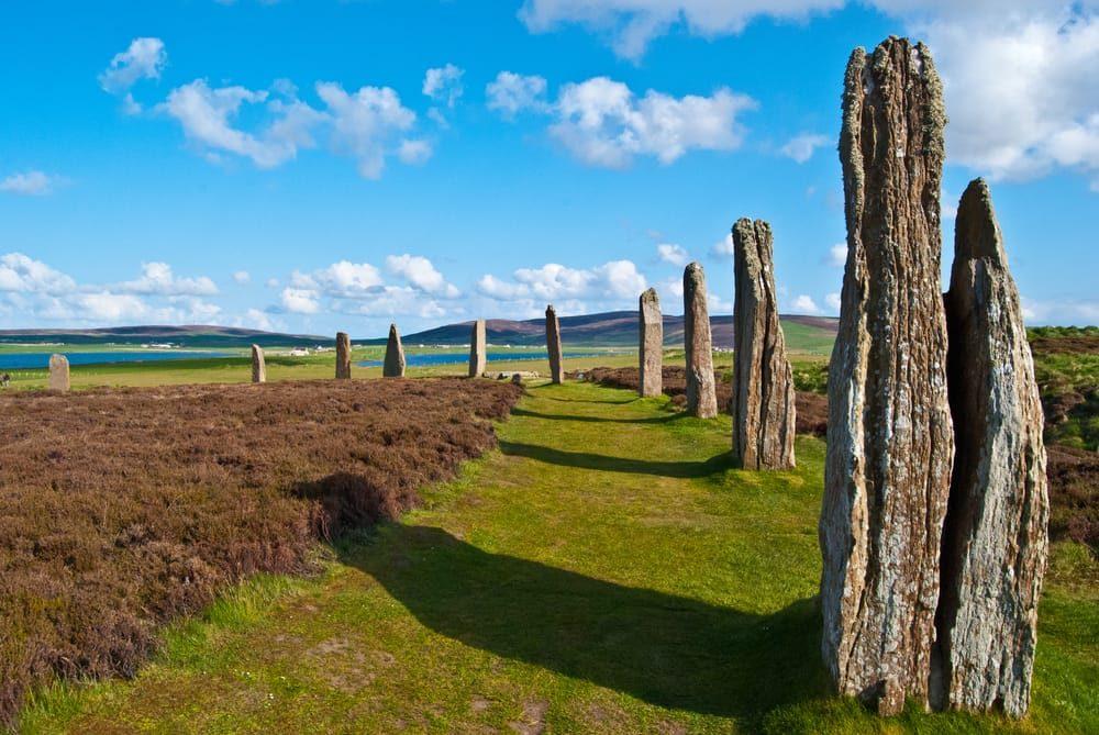 foto de las islas orkney que tienen un festival en el solsticio de verano