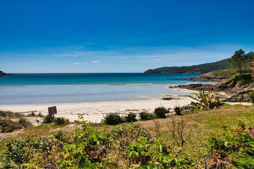 Playas de ensueño en nuestra ruta de Galicia con niños