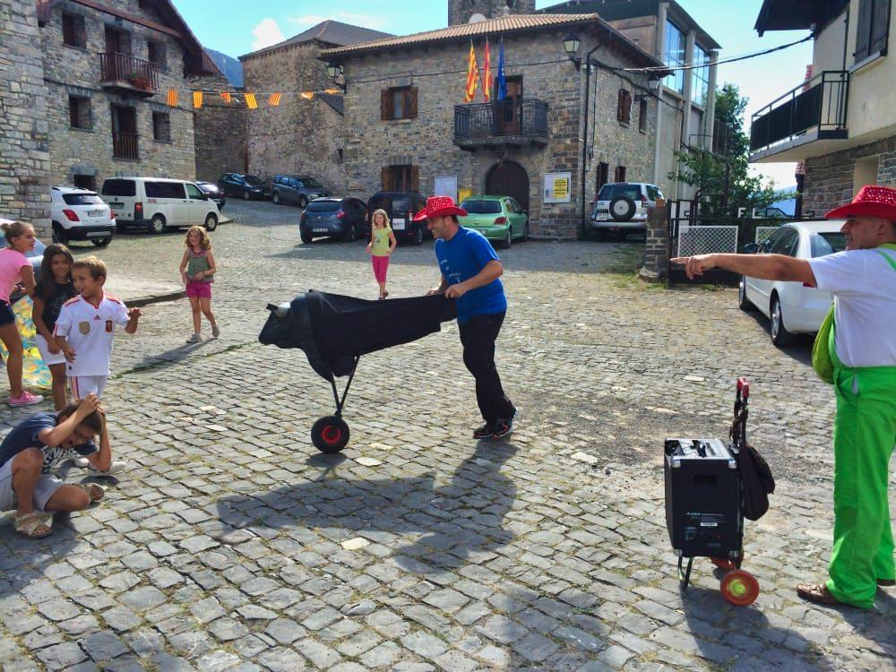 yesero y sus fiestas. Pirineo Aragonés