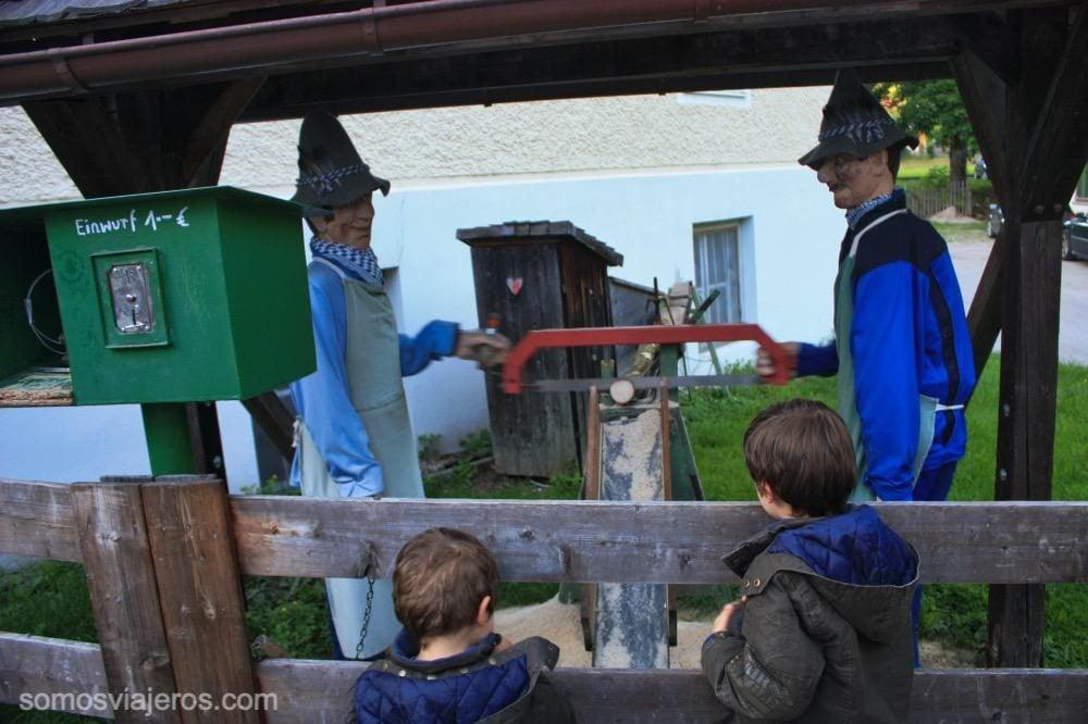 muñecos autómatas en Konigssee