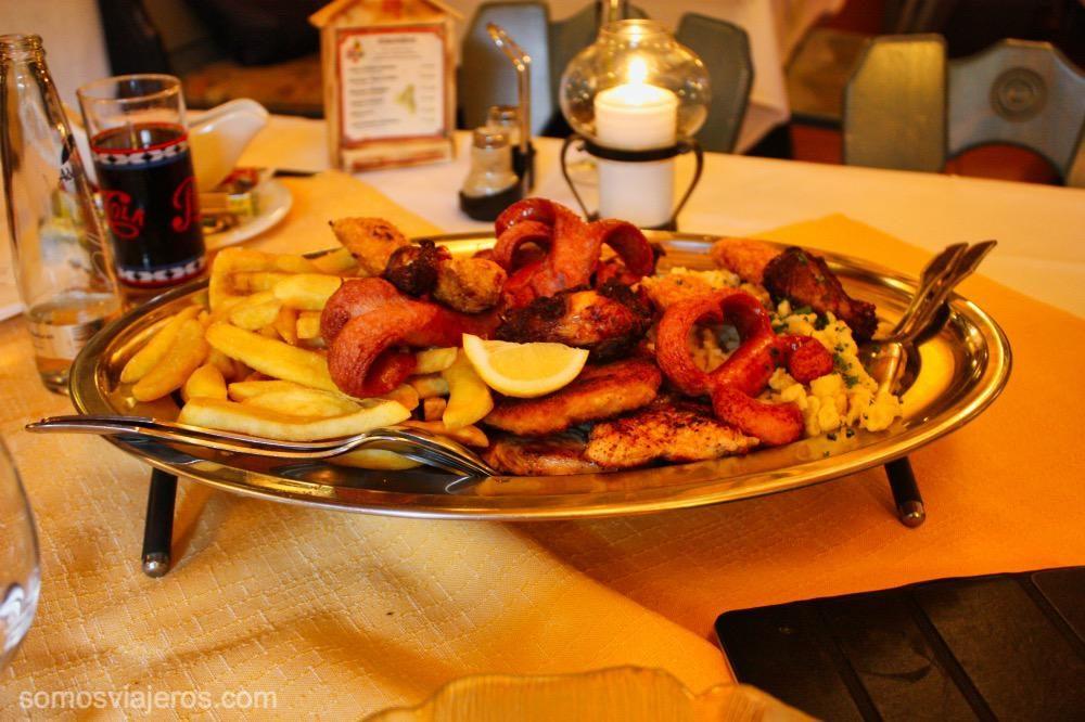restaurante en Konigssee