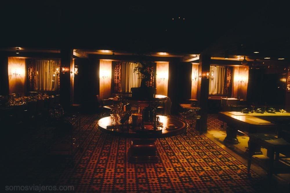 Bar en el hotel palacio