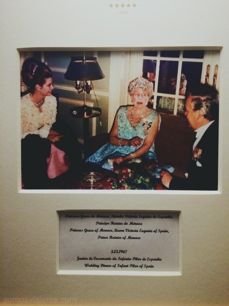 foto de la realeza en el hotel palacio