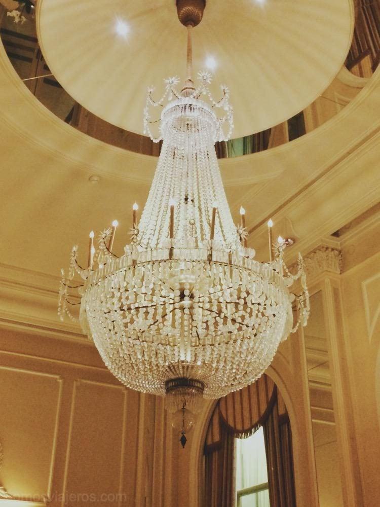 lápara del hotel palacio