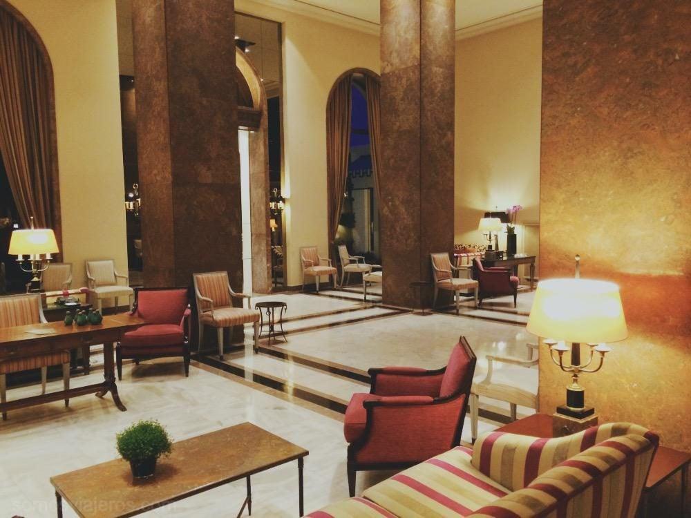 salones del hotel palacio