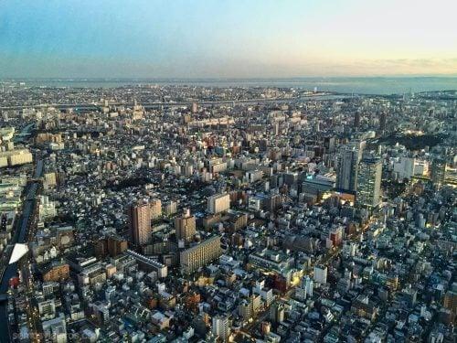 tokyo desde el Skytree