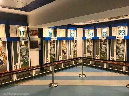 taquillas del Bernabéu