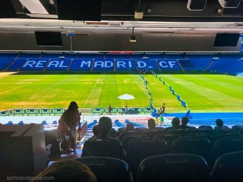 butacas presidente en el tour del Bernabéu