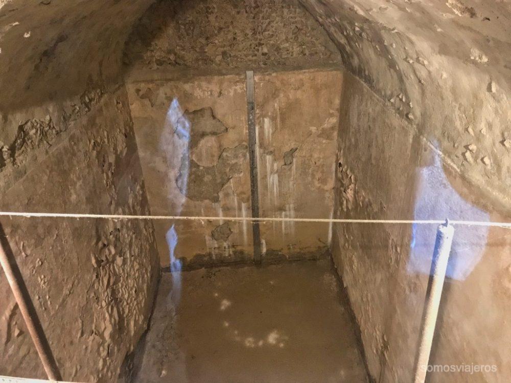 Cisterna del castillo de Miravet