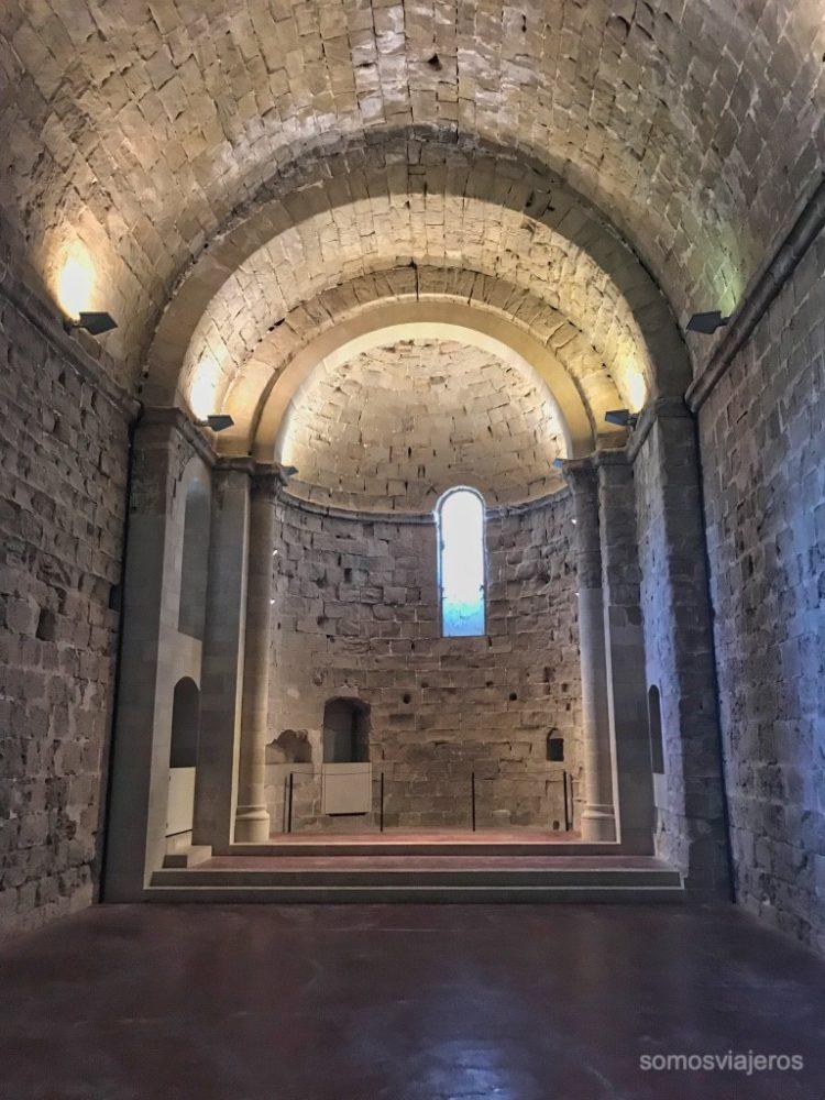 Iglesia del castillo de Miravet