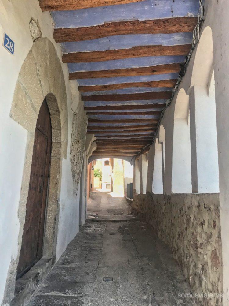 Calles de Miravet
